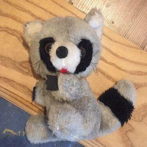 Other - *vintage* raccoon stuffy
